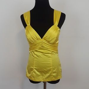 XOXO yellow tank top size small